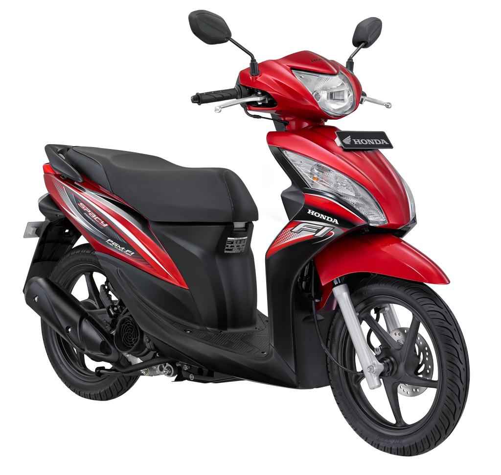 Pilihan Warna - Spacy Helm In PGM FI - Kredit Motor Murah Honda