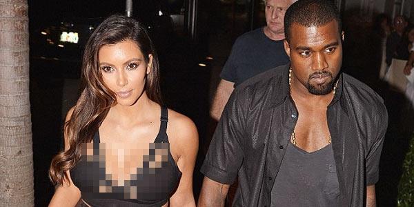Kim Kardashian Umbar Payudara