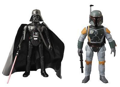 Star Wars Vintage Sofubi Collection by Medicom - Darth Vader & Boba Fett