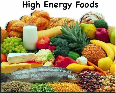 Foods with High Energy