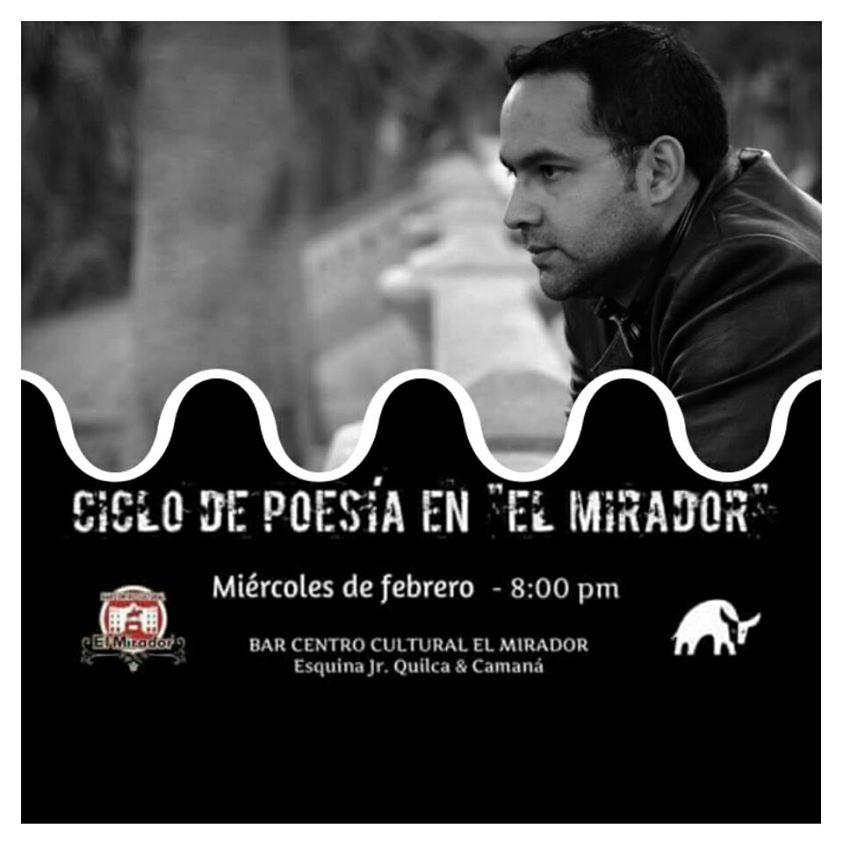 """Ciclo de poesía en """"El Mirador"""""""