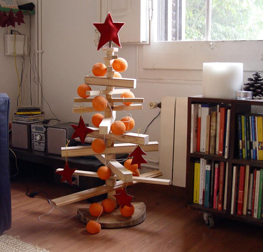 Taller de ninyacolorita rbol de navidad casero - Arbol de navidad hecho en casa ...