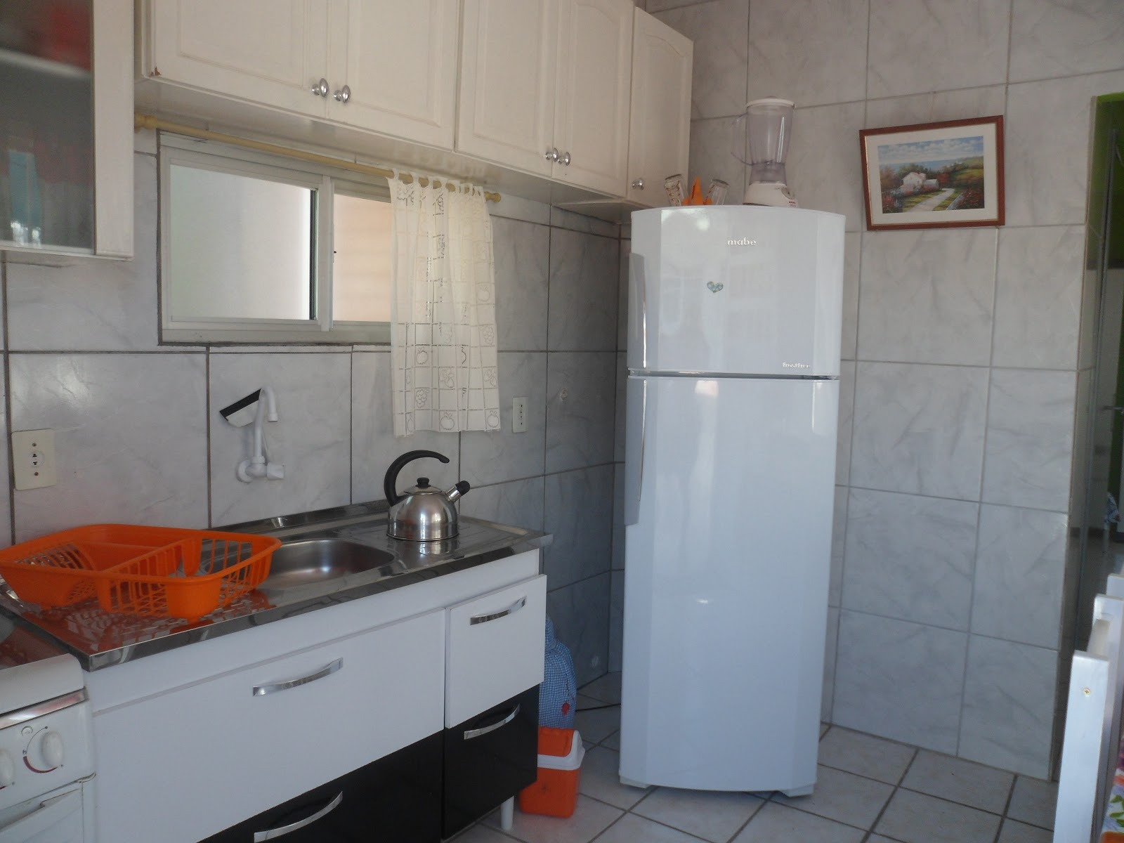 APTO PARA casal 30M DA PRAIA VERAO 2016 #703624 1600x1200 Banheiro Container Florianopolis