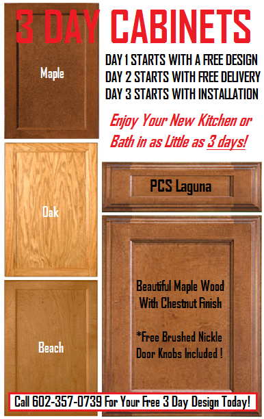 In-Stock Kitchen Cabinets in Phoenix