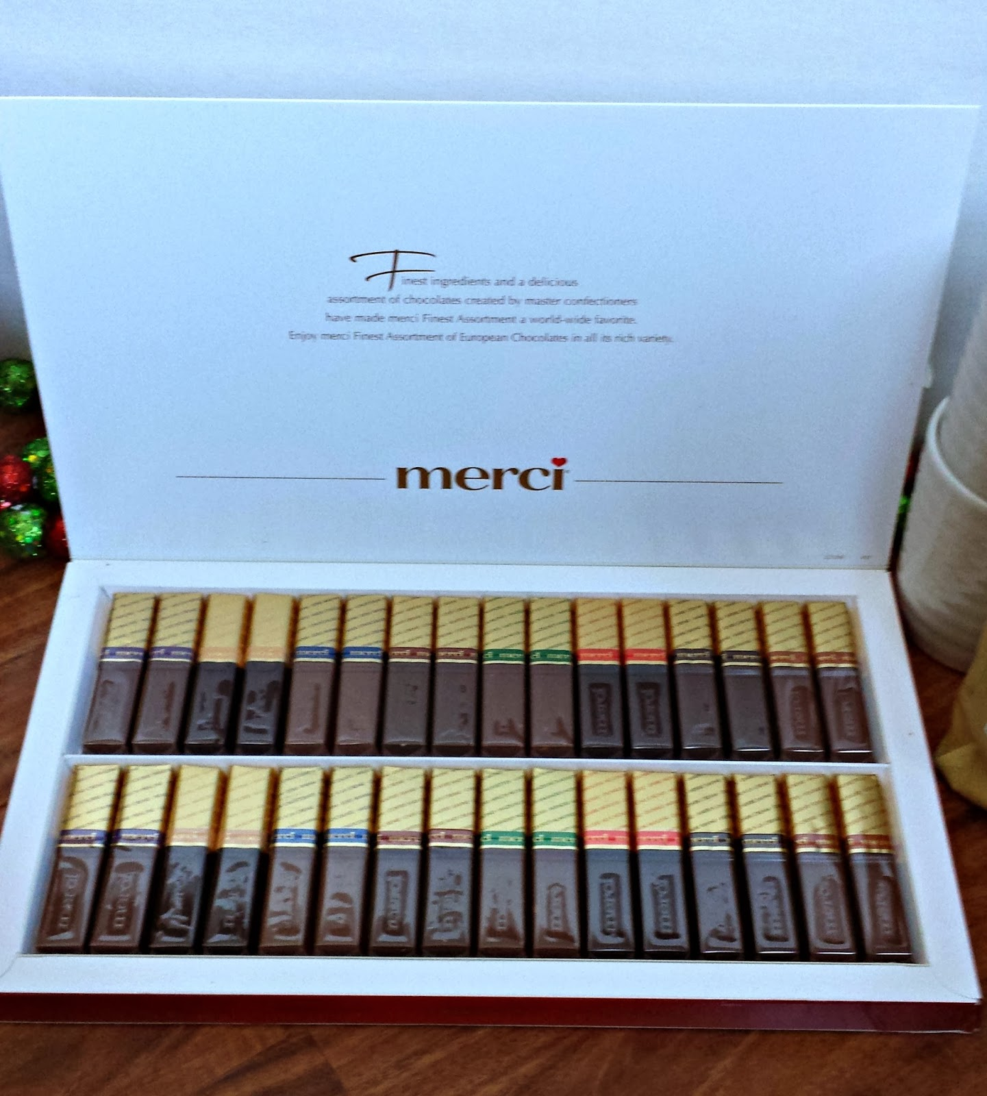 crazylou: Tasty Tuesday--merci Chocolates Giveaway