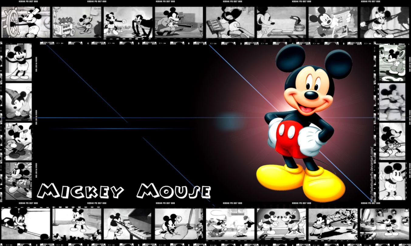 Mickey Mouse Hd Wallpaper Desktop White Full Hd Wallpapers