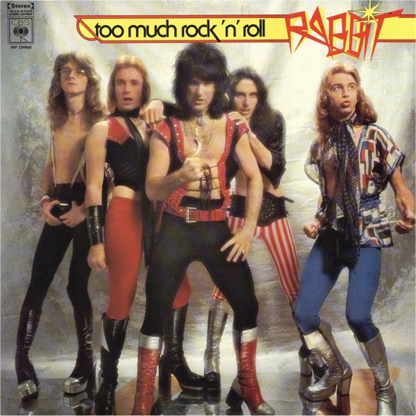 Rabbit - Selftitled (1975) / Too Much Rock 'n' Roll (1976) + Bonus Tracks