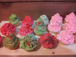 Christmas Spice Soap Cupcakes