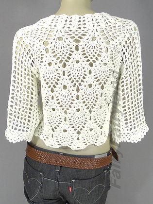 Knot Your Nana's Crochet: Free Crochet Lacy Bolero