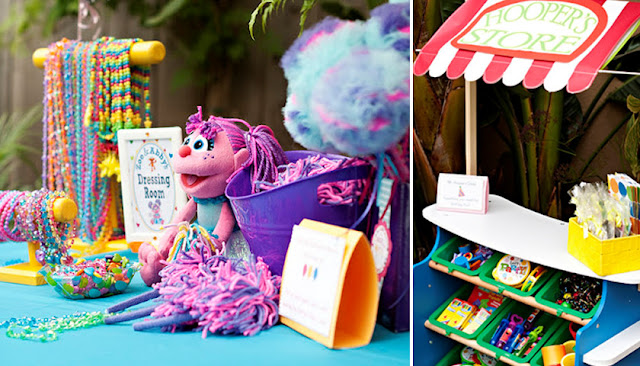 Sesame Street Birthday Party Ideas