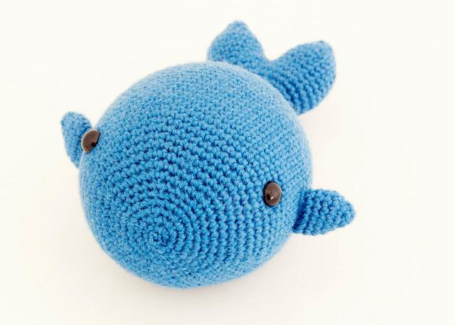 amigurumi ballena fish