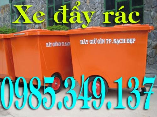 Bán thùng rác 240 lít, thùng rác công cộng 120 lít, 660 lít Gọi 0985349137