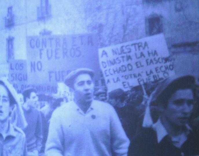 Contra ETA, Fueros. No Fuerza.
