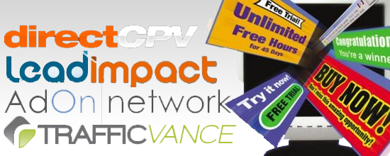 List Best CPV Networks Or Sites Of All Time in 2014