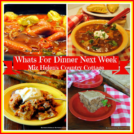 Whats For Dinner Next Week * Week Of 10-15-17