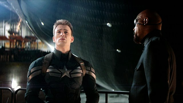 steve rogers and nick fury pics