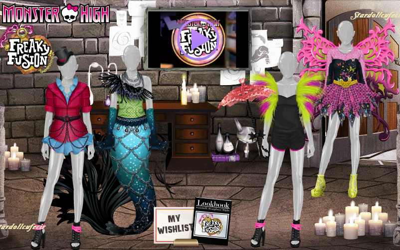 Monster High Freaky Fusion Stardoll Store