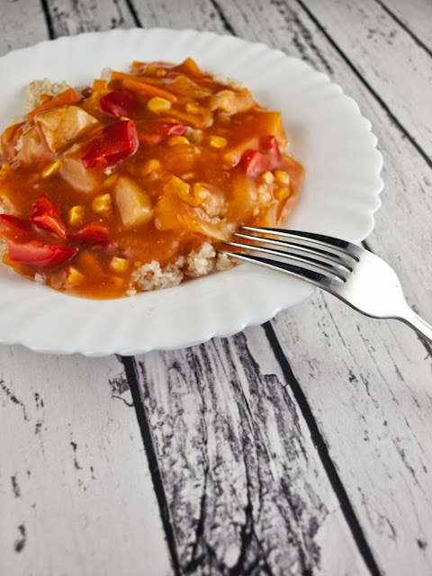 sos słodko-kwaśny jak ze słoika