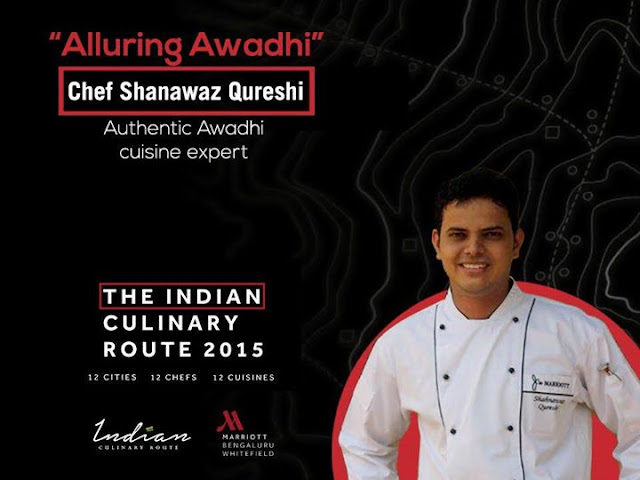 Indian Culinary Route Whitefield Marriott Bangalore, Chef Shanawaz Qureshi