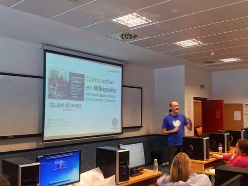 Taller sobre Wikipedia en Castellón 2013