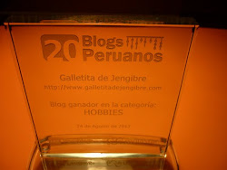 20 Blogs Peruanos 2012: Blog ganador en la categoria Hobbies ♥