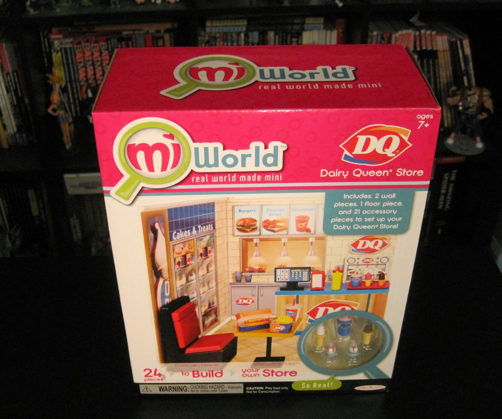 Dairy Queen Toys : Toy remix miworld dairy queen starter set