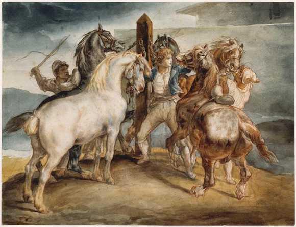karya lukisan Theodore Gericault