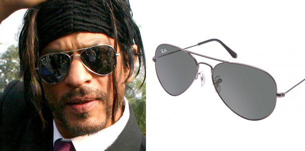 khan ray ban aviator don 2