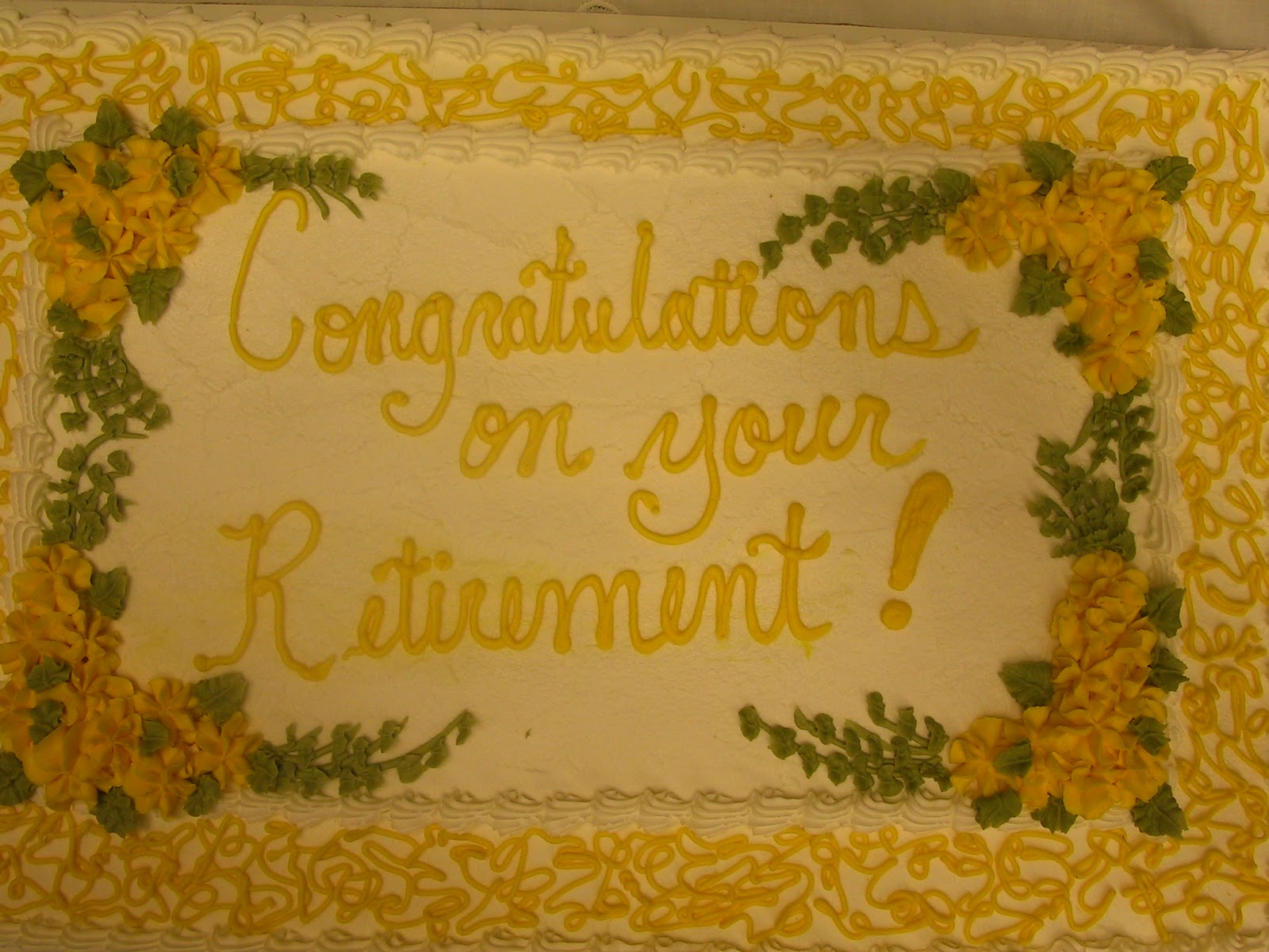 Retirement Sheet Cakes Cake Ideas and Designs