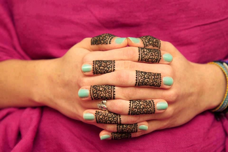 Fingers Mehndi Design HD Wallpapers Free Download