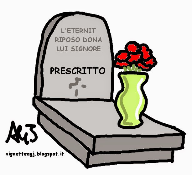 Eternit, cassazione, satira, vignetta