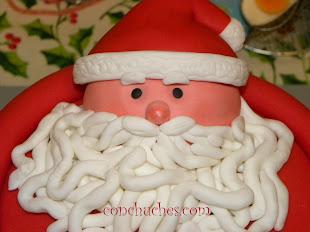Tarta Papá Noel
