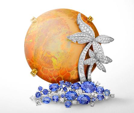 Defraction Pattern Of Opal
