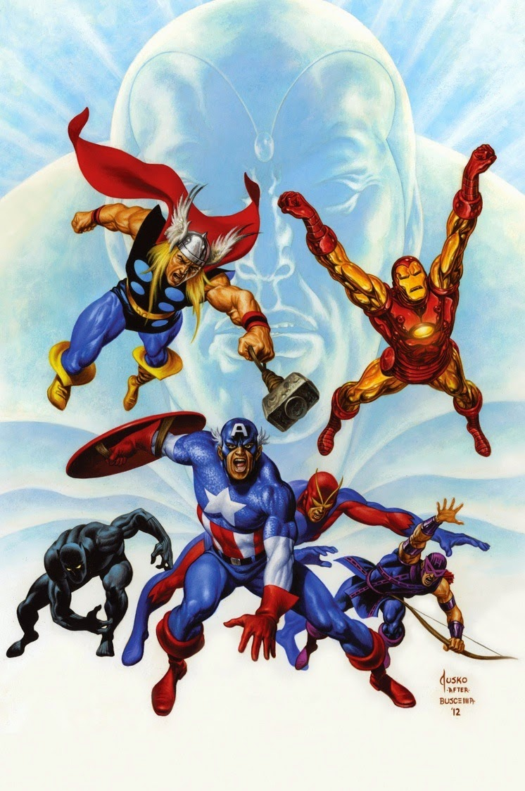 Comic Book Cover Art Sale : The great comic book heroes avengers quot even an