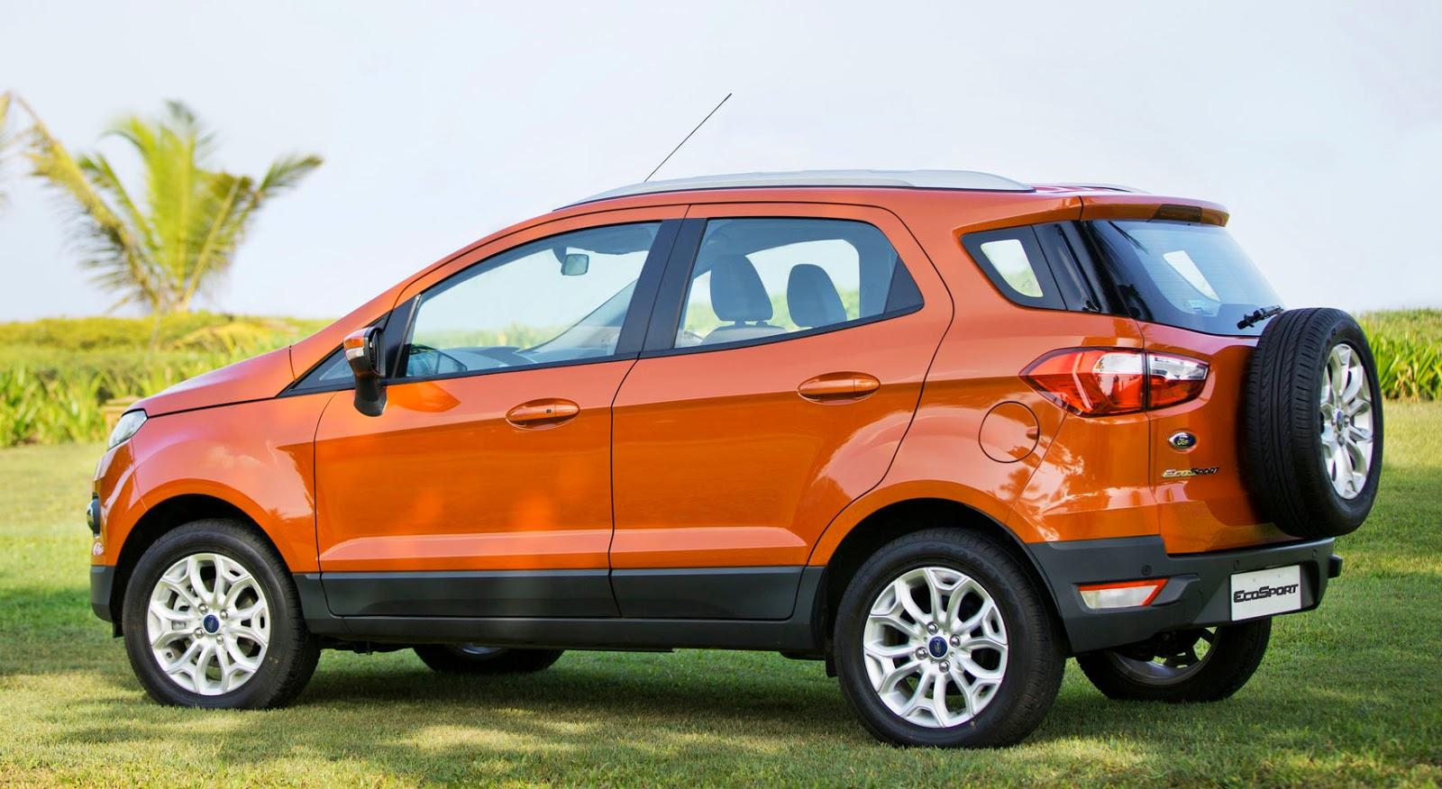 Líder no segmento de leves: Ford Ecosport é destaque no mercado!