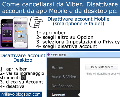 come cancellarsi da two video harf gratis