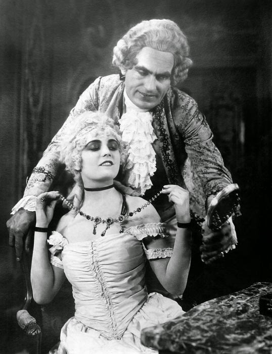 Pola Negri as 18th century French royal mistress Madame Du Barry in the 1920 film