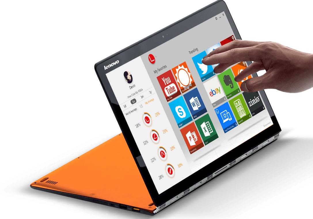 Lenovo Yoga 3 Pro,MacBook Air