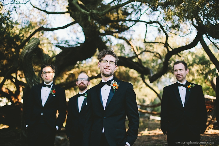 """""""groom and groomsmen in san francisco park"""""""