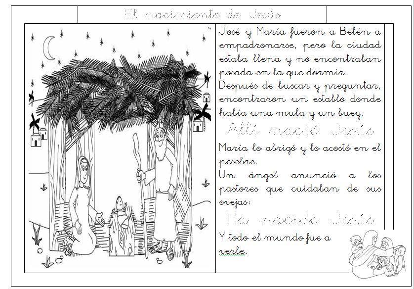 Ficha: El nacimiento de Jesús