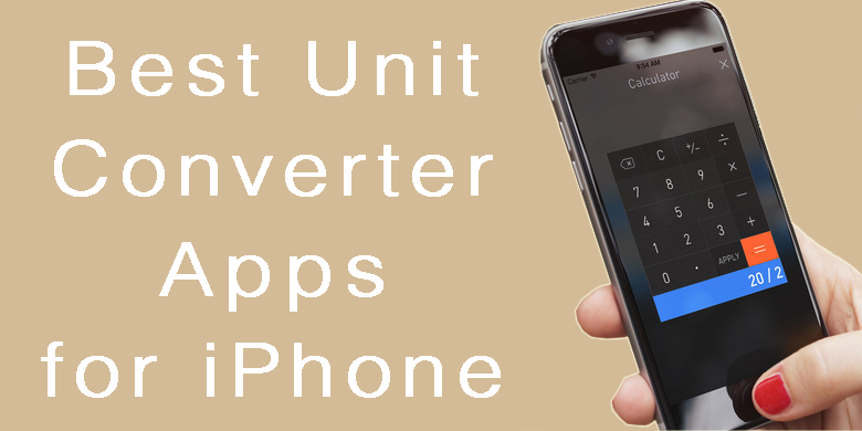 Unit Converter Apps for iPhone