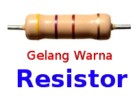 Cara Mudah Mengetahui Nilai Gelang Warna Resistor