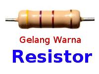 Gelang Warna Resistor
