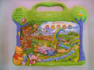 Vtech Pooh Press Learning Board (Used)