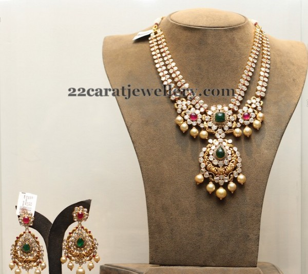 Two Rows Pachi Necklace
