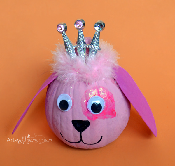 Princess Puppy Pumpkin from Artsy Momma