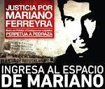 Justicia por MARIANO FERREYRA!!!