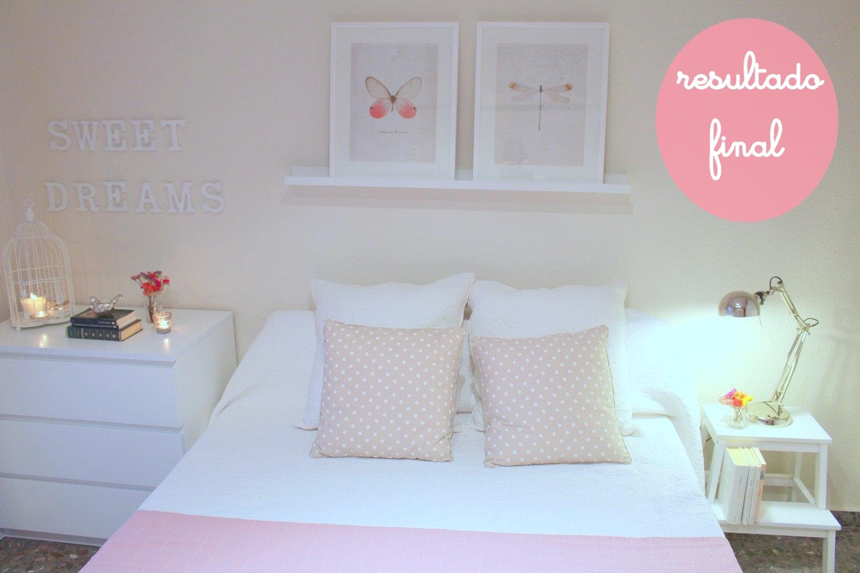 Y asi hicimos el dormitorio de invitados low cost boho - Decoracion de habitaciones ikea ...