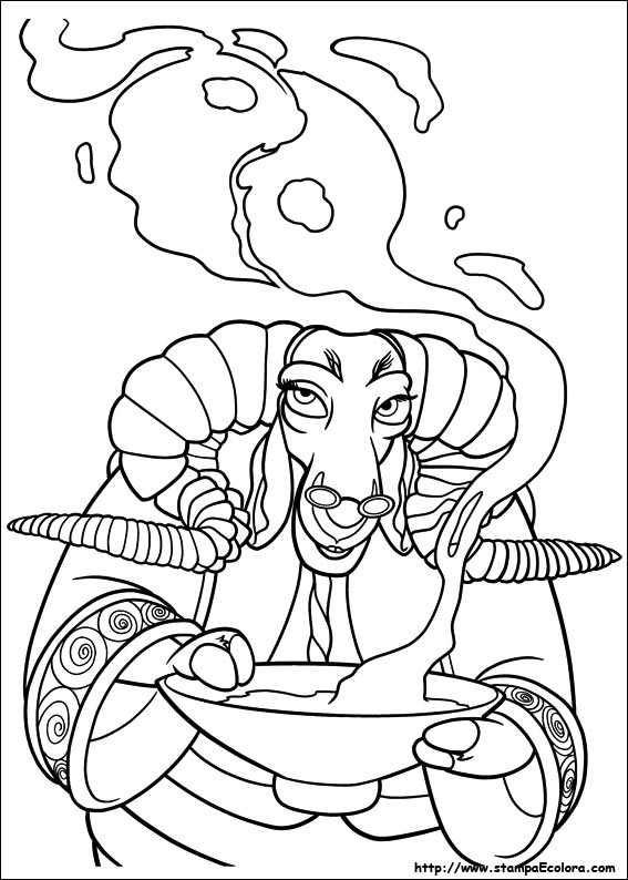 Thanks For Downloading Kung Fu Panda 2 Coloring Pages
