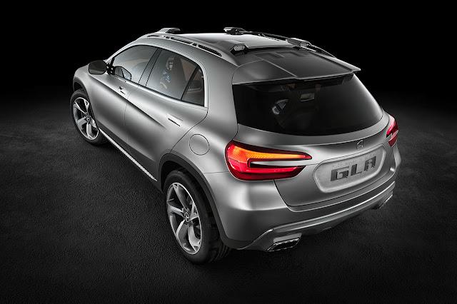 Mercedes-Benz Concept GLA rear side